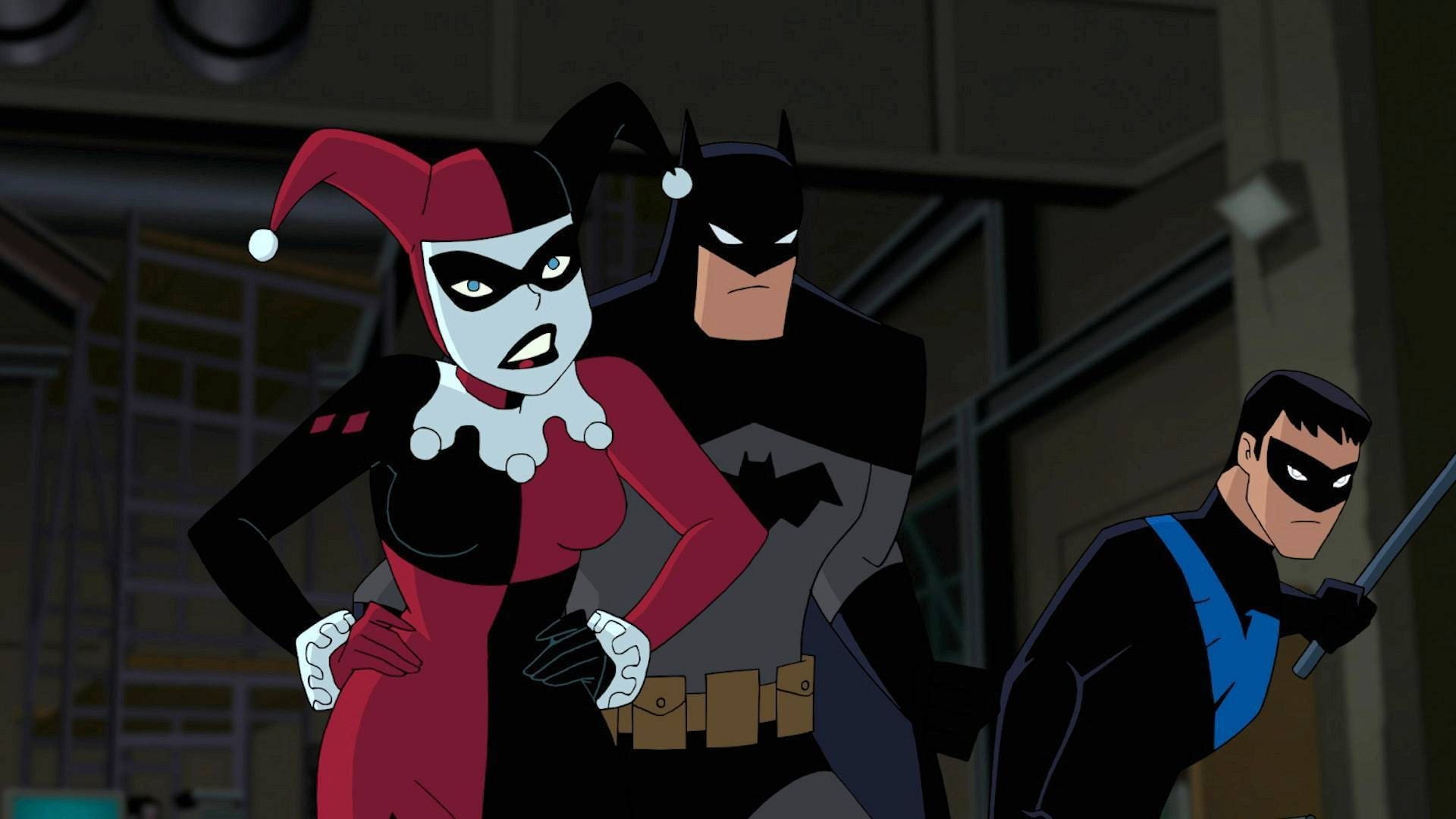 Batman And Harley Quinn  [2017]