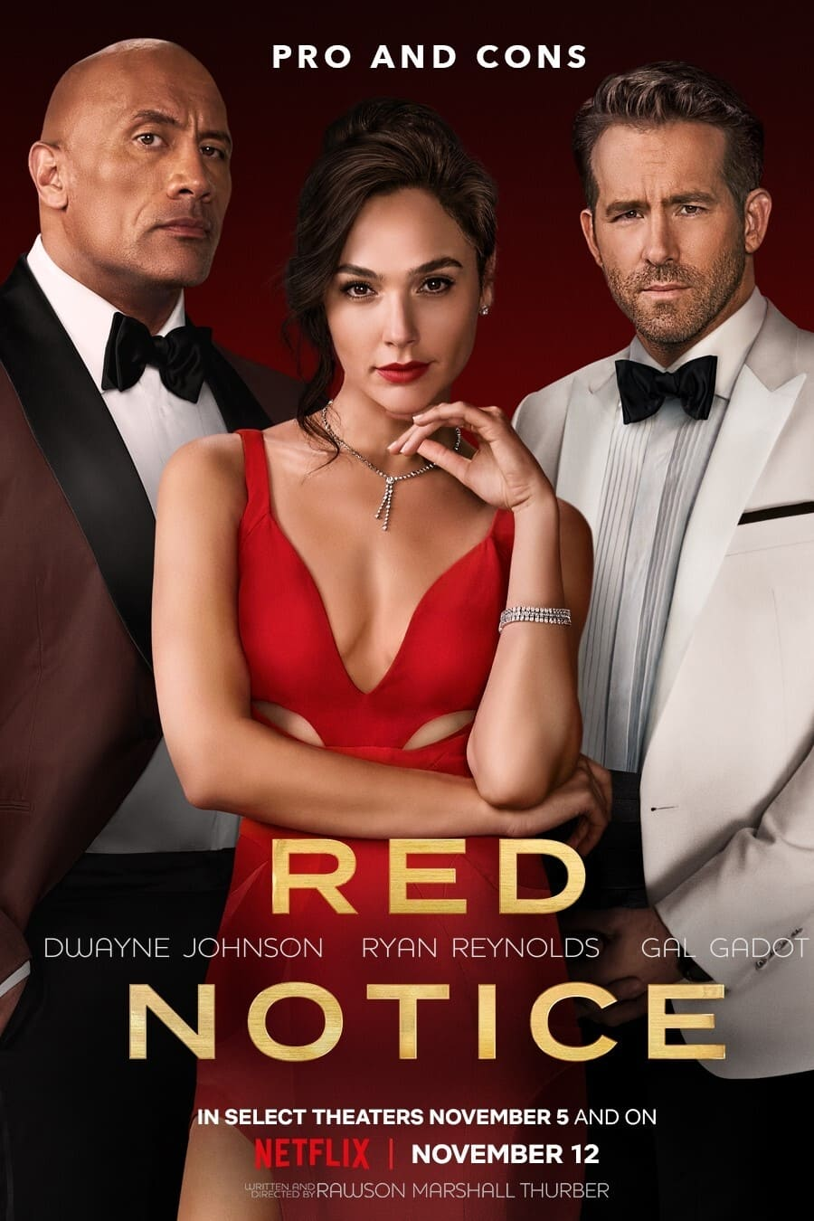 Red Notice Poster