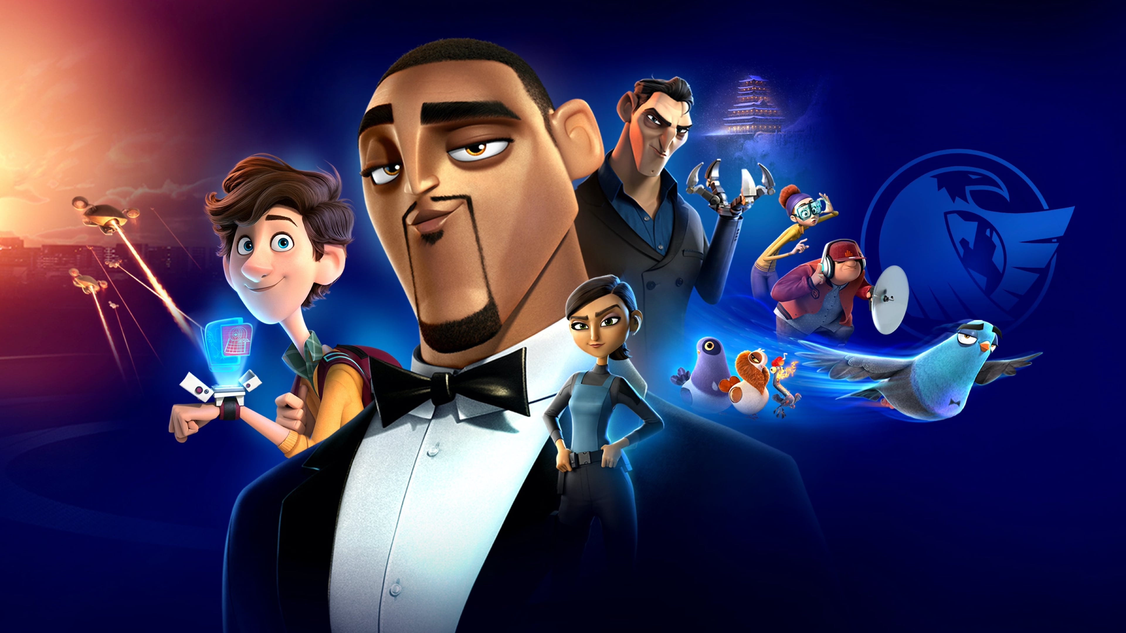 Spies in Disguise [2019]
