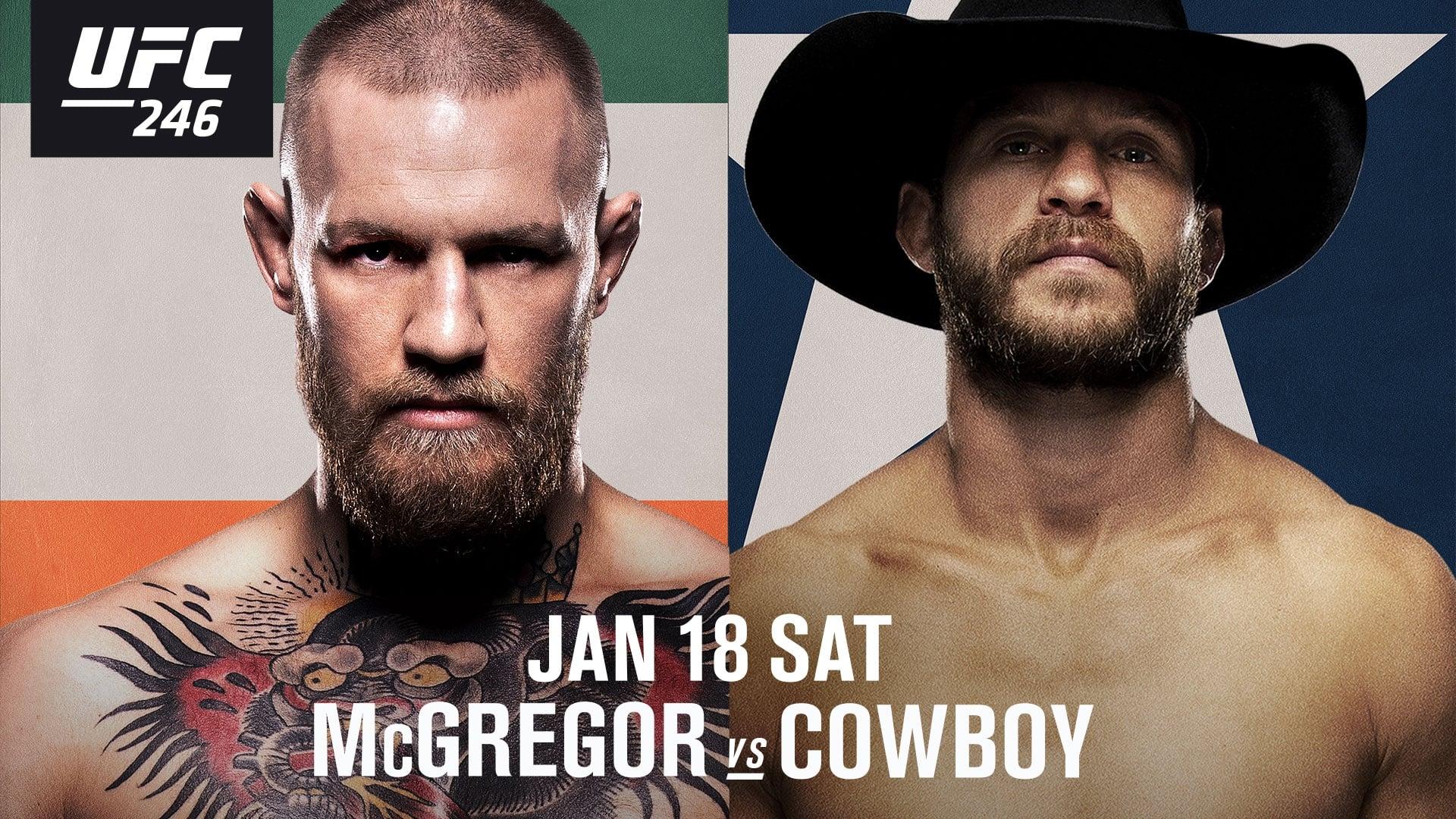 UFC 246 McGregor vs Cowboy  [2020]