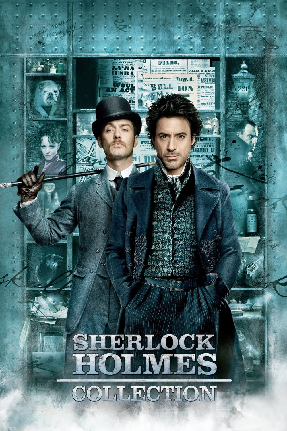 All movies from Sherlock Holmes Collection saga are on
