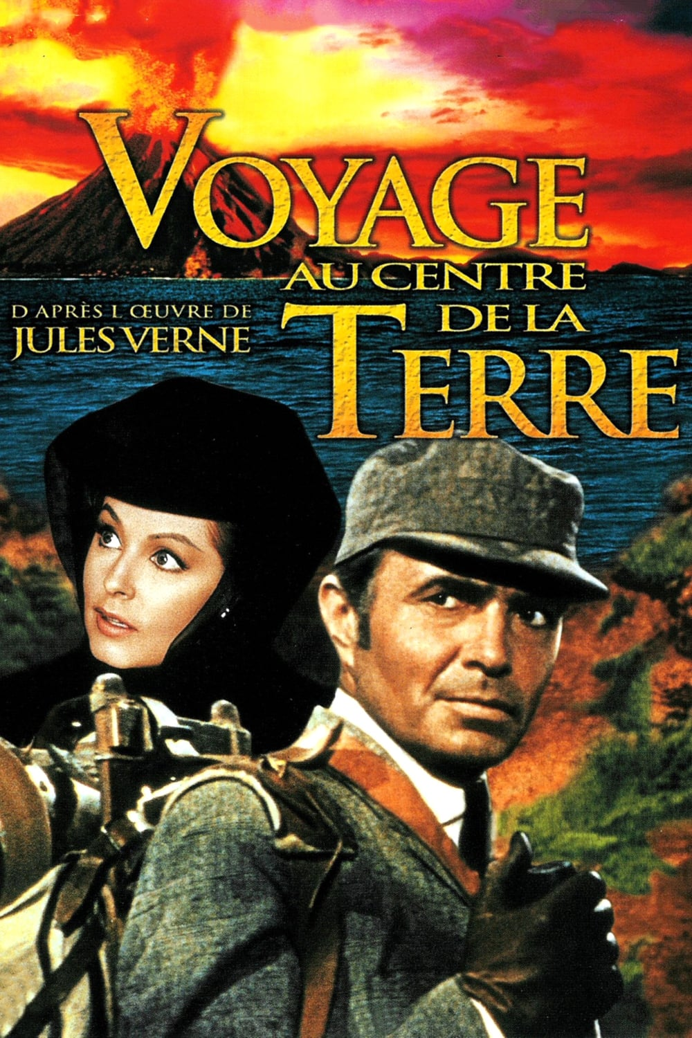 regarder film voyage au centre de la terre 1959 streaming complet fr. Black Bedroom Furniture Sets. Home Design Ideas