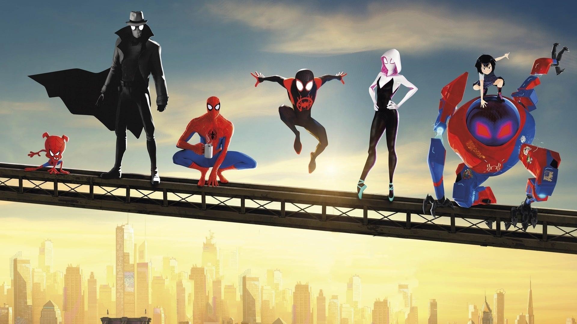 Contraportada Spider-Man: Into the Spider-Verse