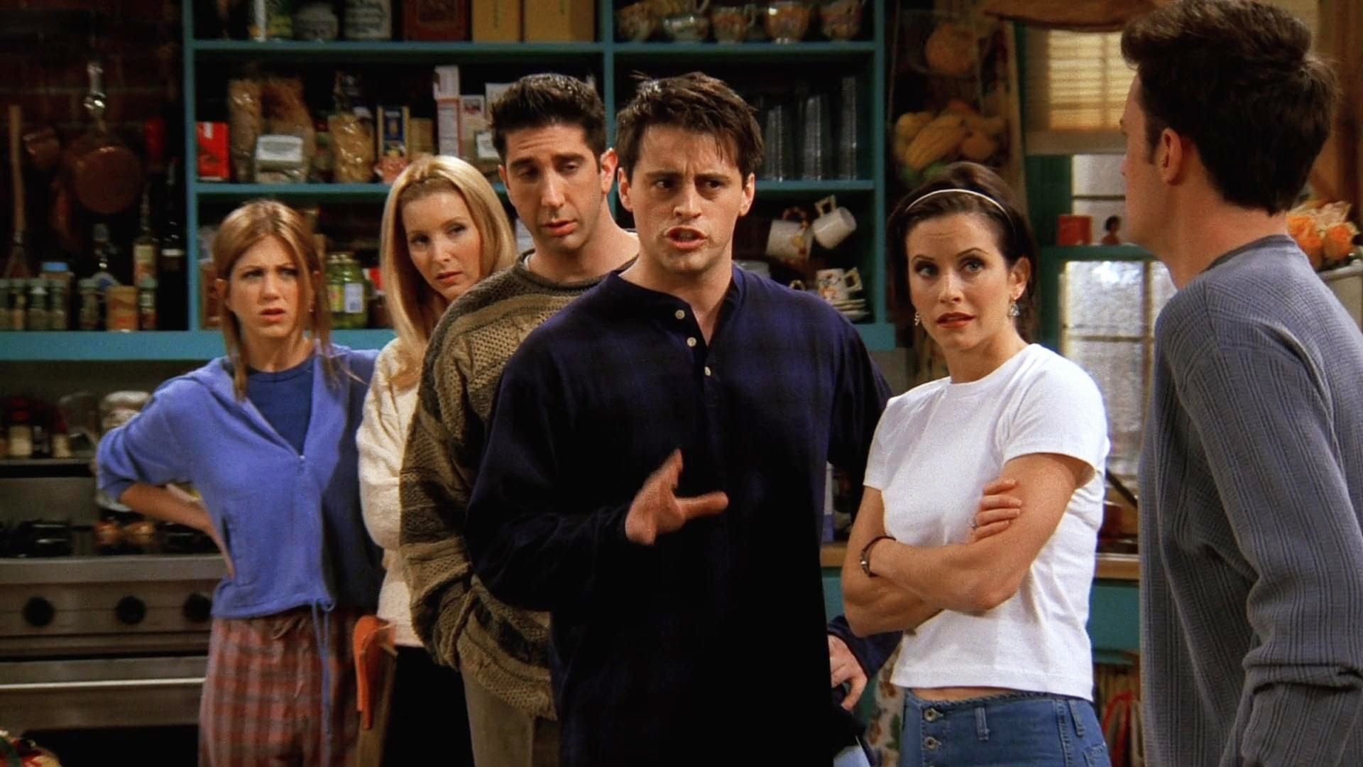 Friends Season 3 :Episode 11  The One Where Chandler Can't Remember Which Sister