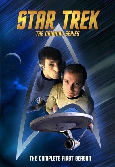Star Trek A Série Original 1º Temporada (1966) Blu-Ray 720p Download Torrent Dub e Leg