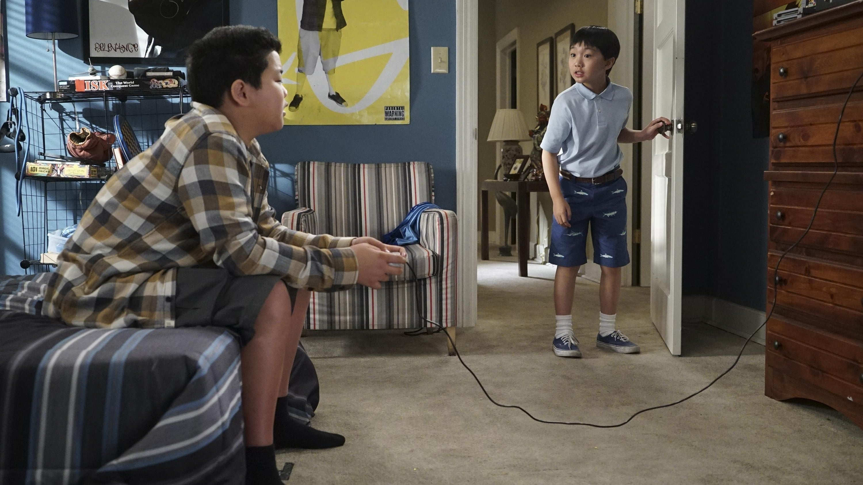 Fresh Off the Boat Season 3 :Episode 15  Living While Eddie