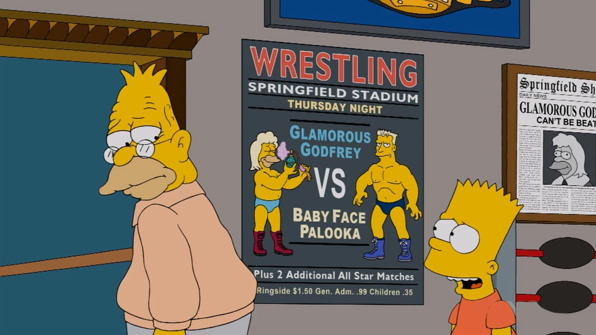 The Simpsons Season 24 :Episode 14  Gorgeous Grampa