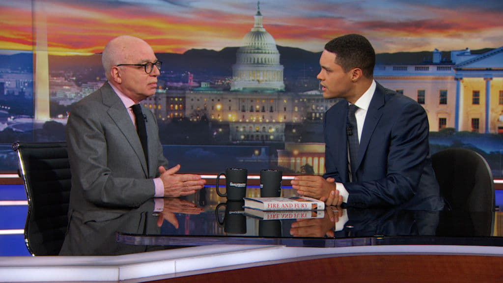 The Daily Show with Trevor Noah Season 23 :Episode 48  Michael Wolff