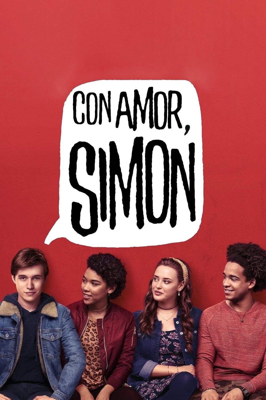 Póster Con amor, Simon