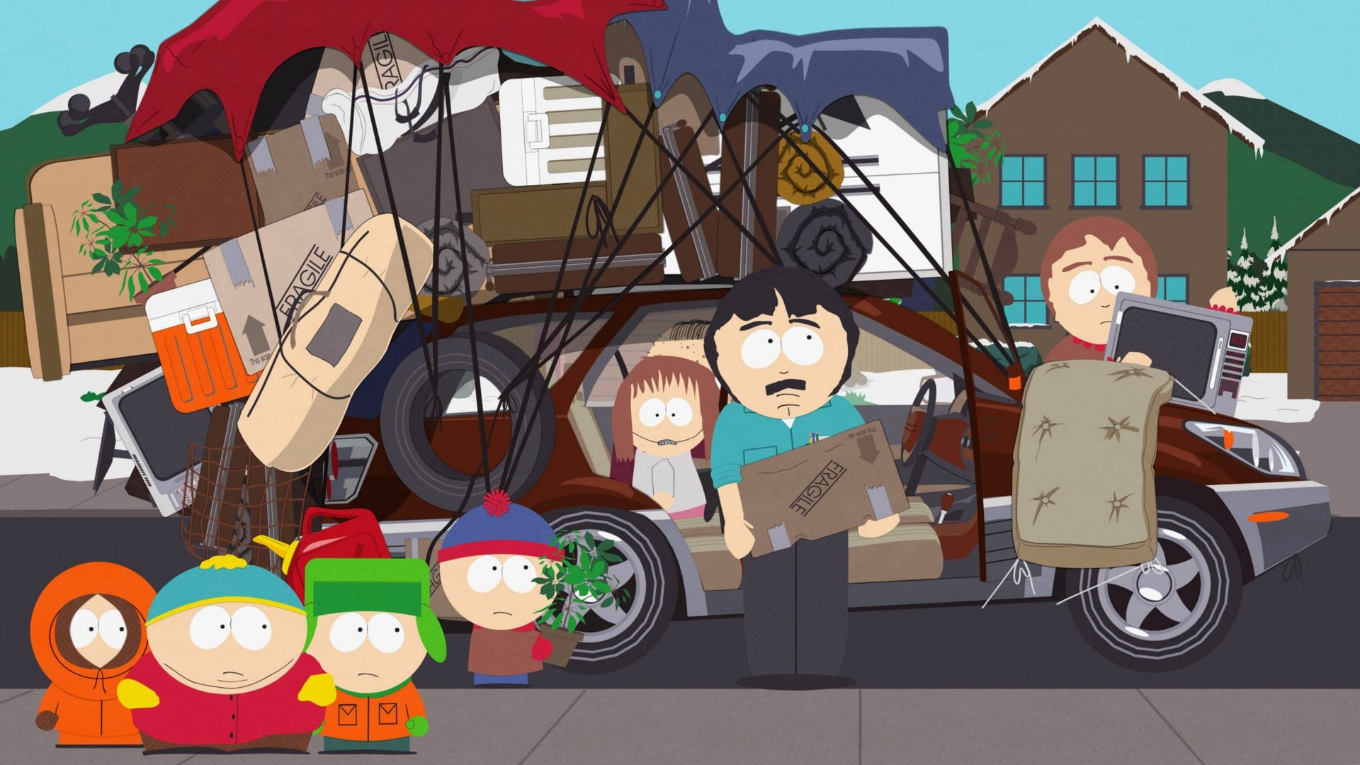 South Park Season 12 :Episode 6  Over Logging