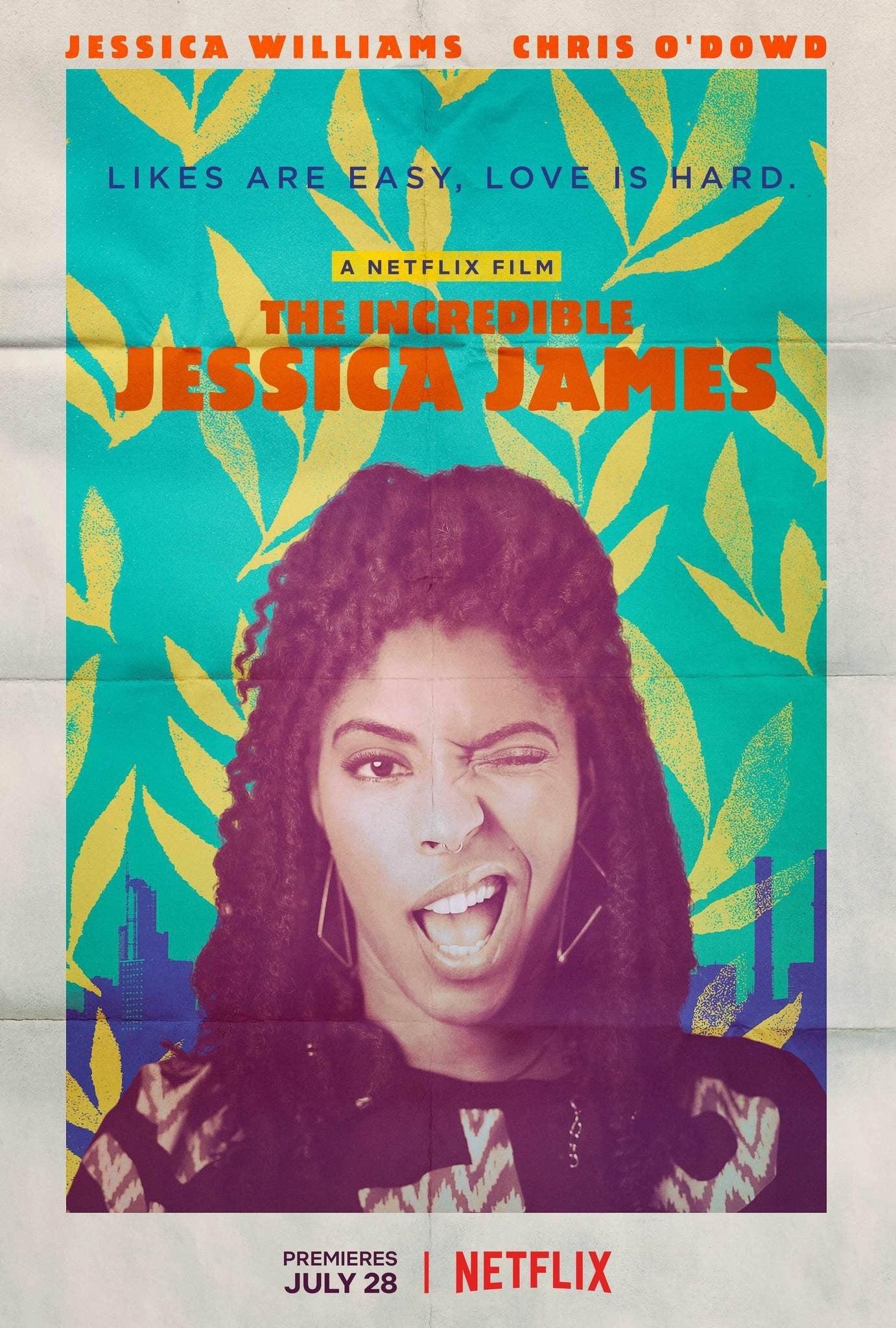 Póster La increíble Jessica James