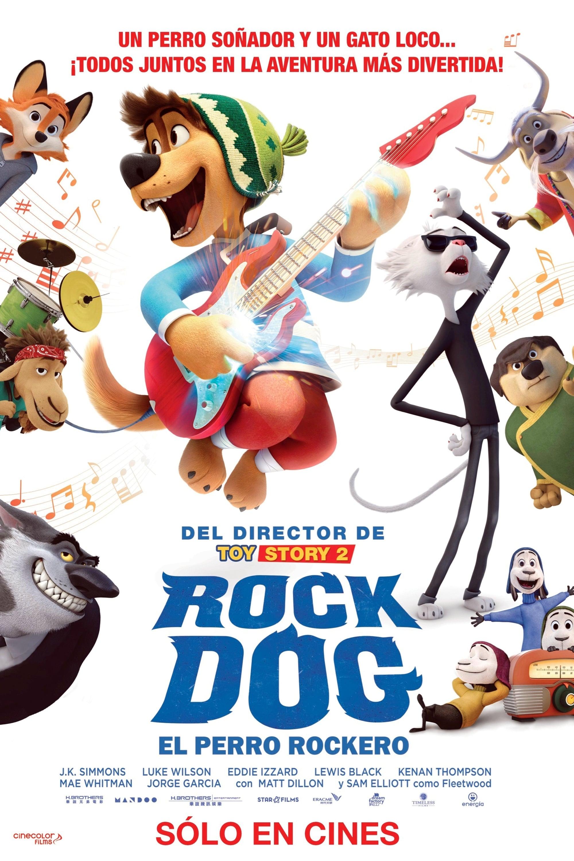 Póster Rock Dog