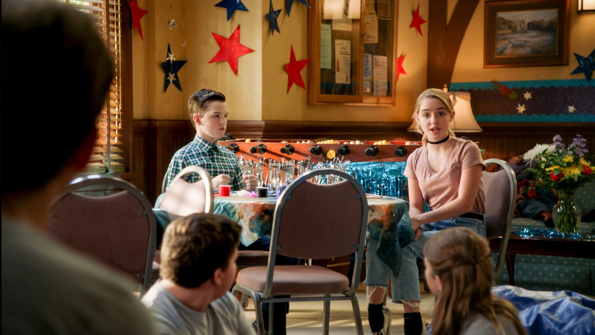 Young Sheldon - Season 4 Episode 4 : Bible Camp and a Chariot of Love