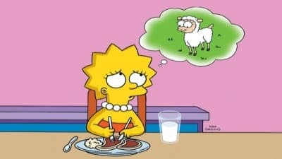 The Simpsons Season 7 :Episode 5  Lisa the Vegetarian