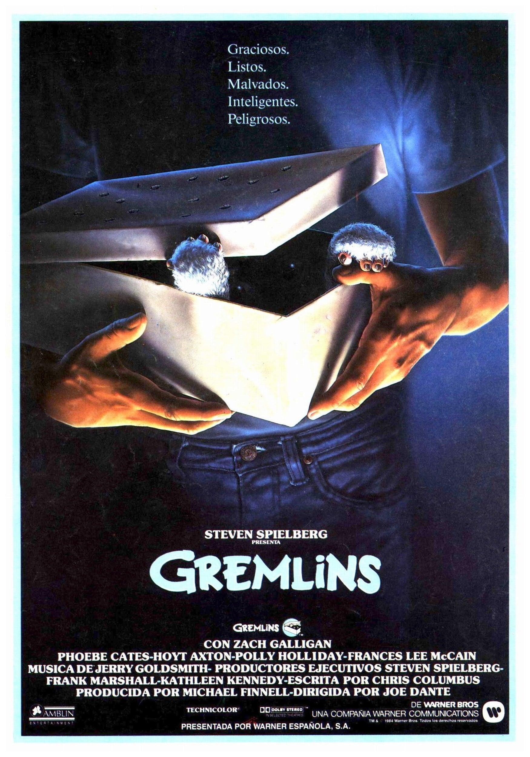 Póster Gremlins