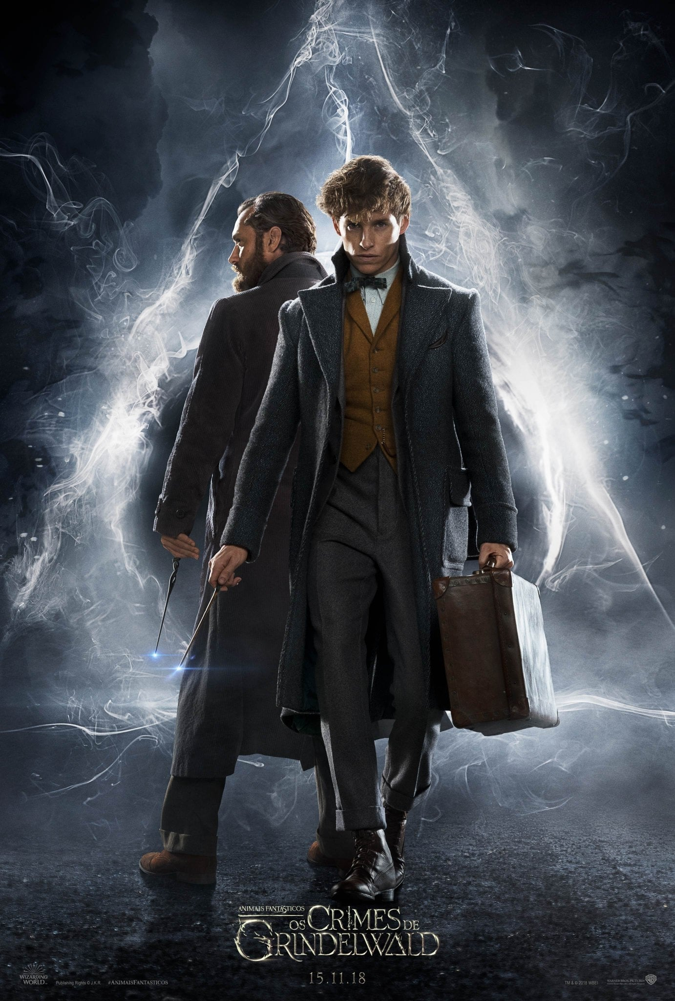 Animais Fantásticos - Os Crimes de Grindelwald (2019) Torrent - WEB-DL Ultra HD Dual Áudio 5.1 [Full 720p e 1080p] Download