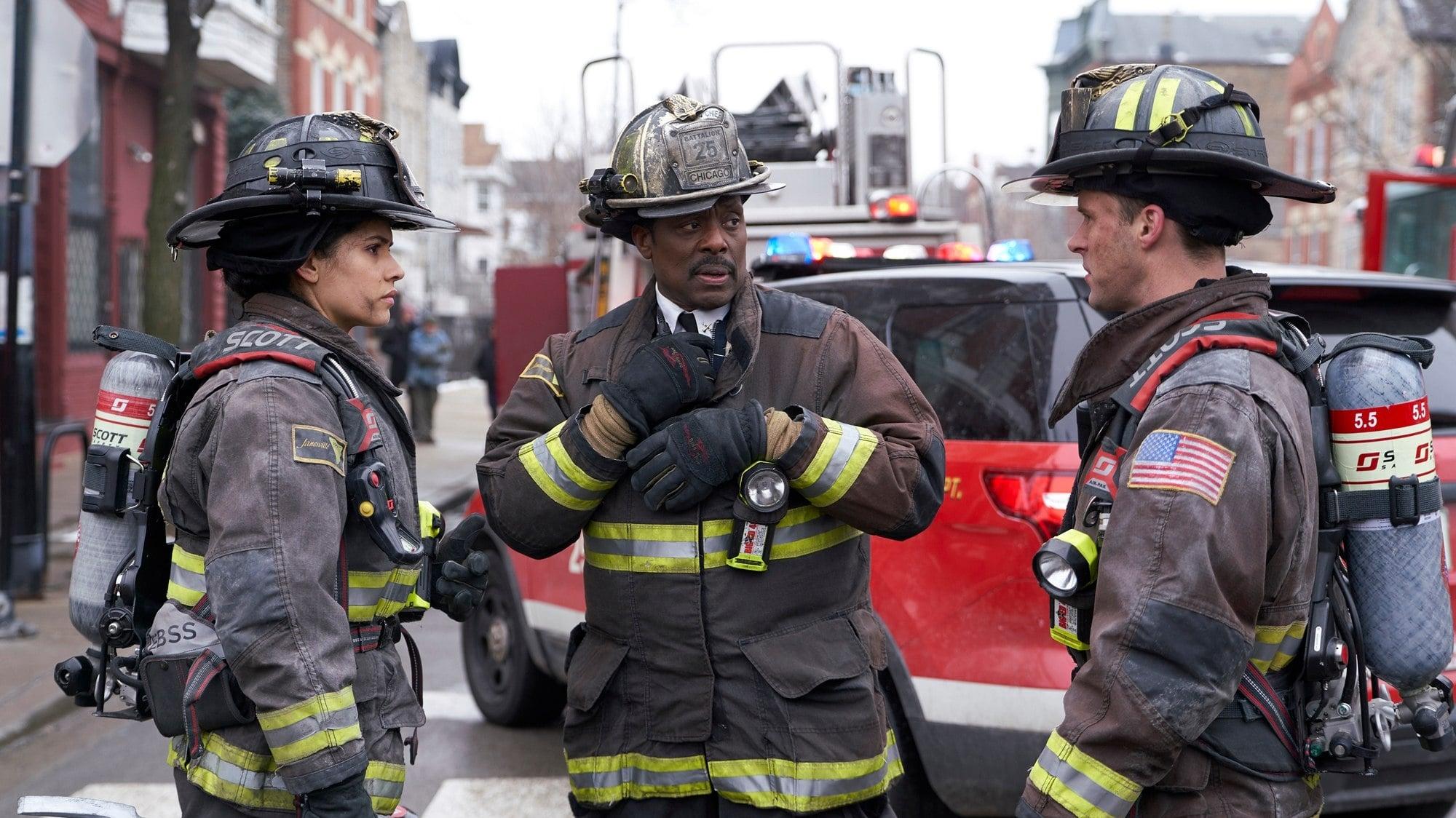 Chicago Fire Season 7 :Episode 17  Gegen die Wand