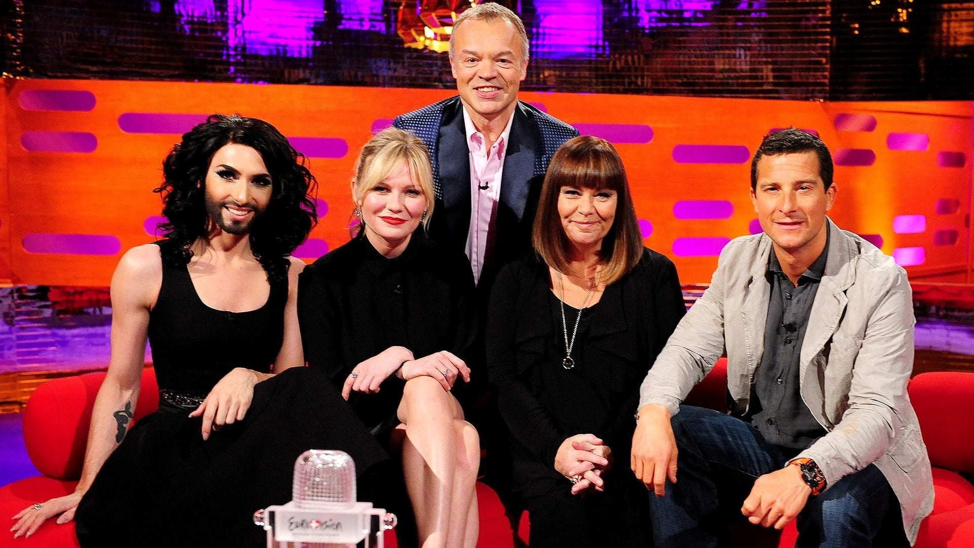 The Graham Norton Show Season 15 :Episode 7  Dawn French, Kirsten Dunst, Bear Grylls, Sam Smith