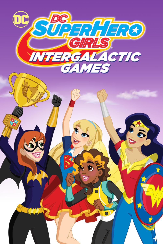 Póster DC Super Hero Girls: Juegos intergalácticos