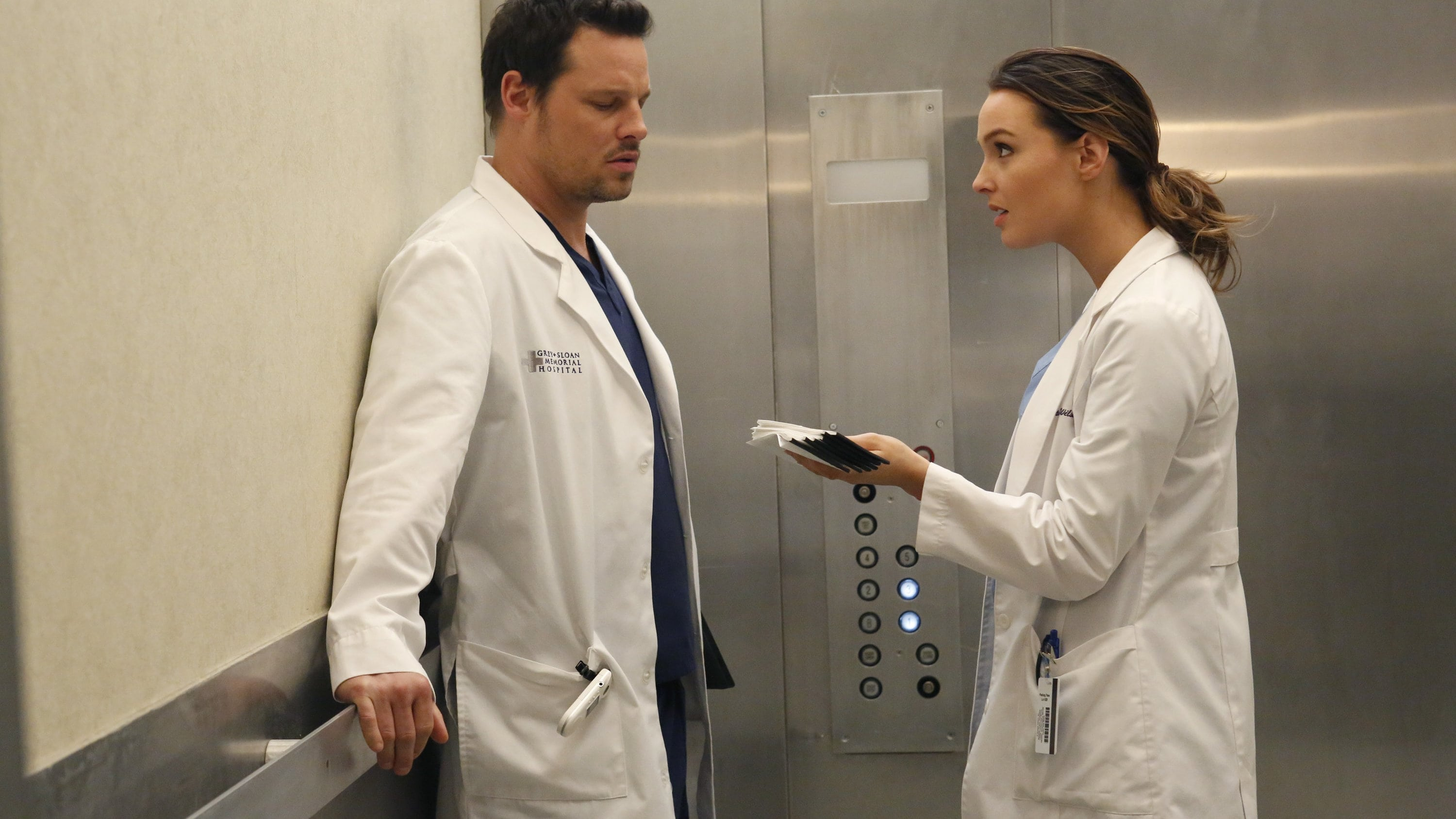 Grey's Anatomy Season 10 :Episode 18  Knockout