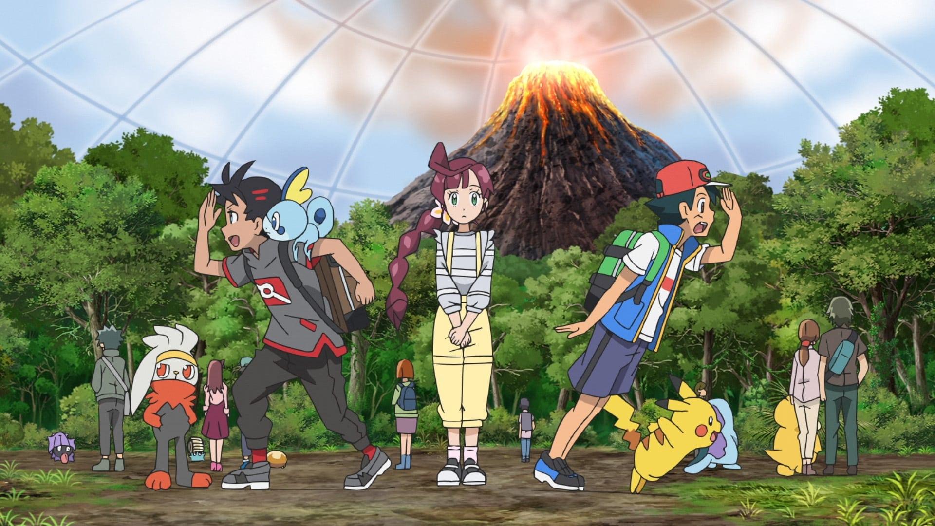 Pokémon Season 23 :Episode 38  The Fossil Pokémon!