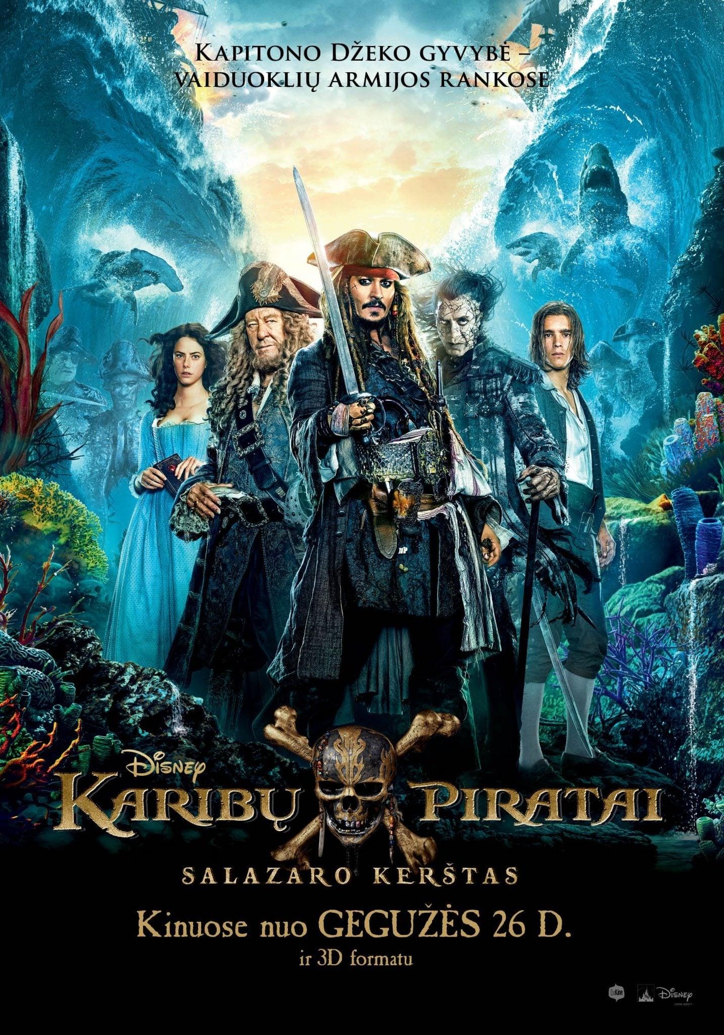 Karibų piratai. Salazaro kerštas / Pirates of the Caribbean: Dead Men Tell No Tales (2017)