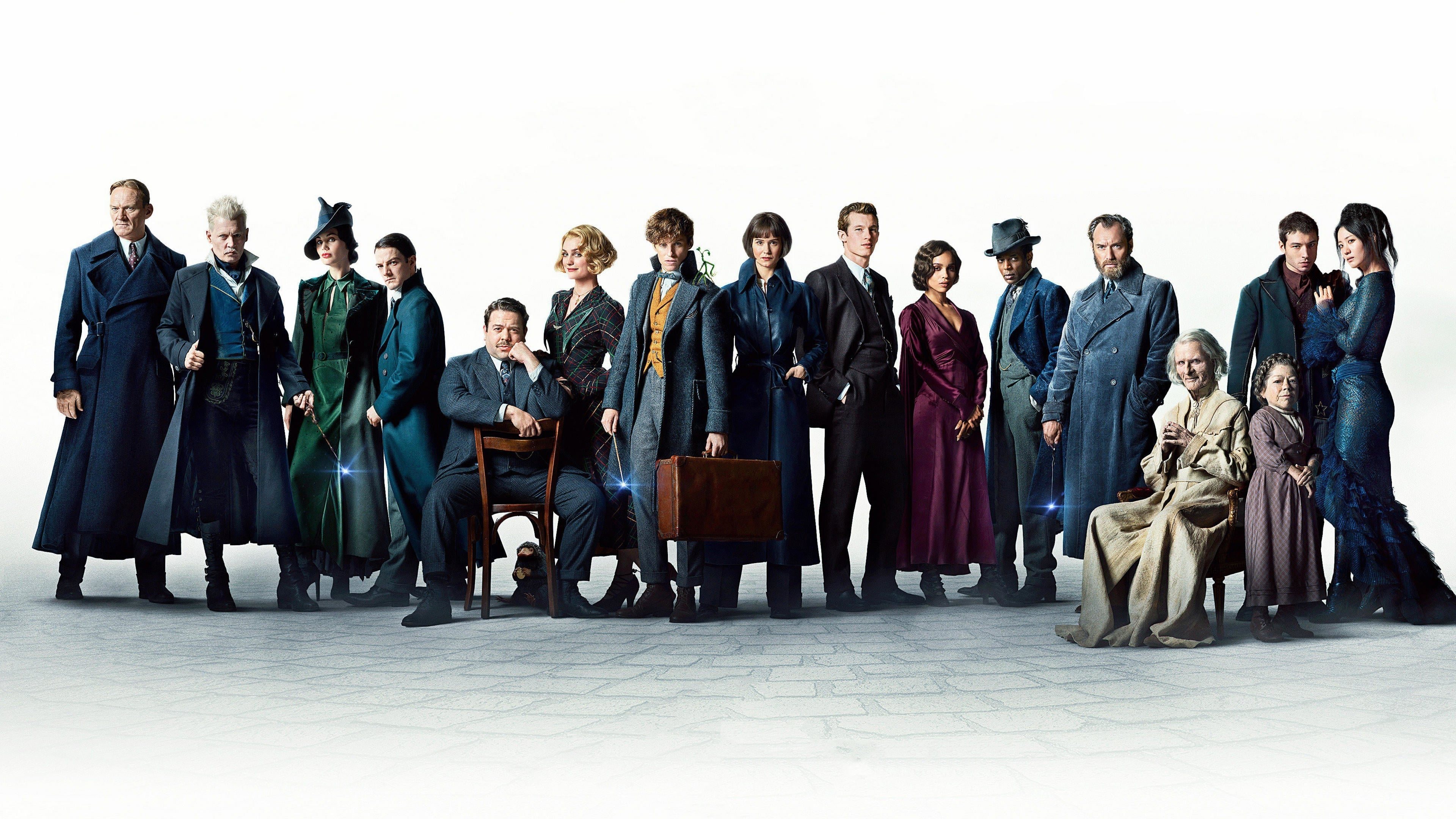 Contraportada Fantastic Beasts: The Crimes of Grindelwald