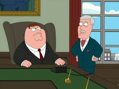 Family Guy - Season 8 Episode 9 : Business Guy