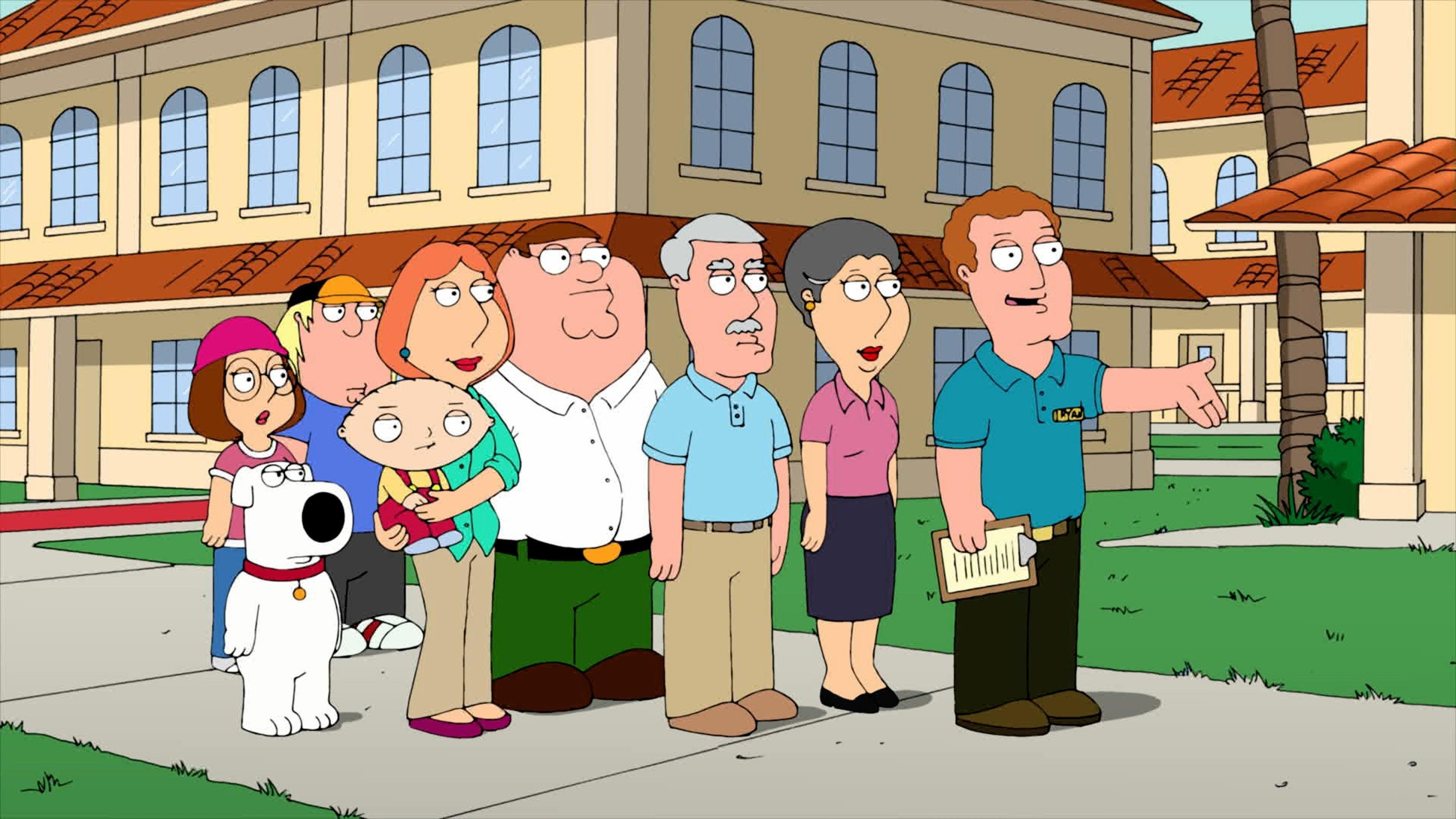 Family Guy Season 10 :Episode 9  Grumpy Old Man