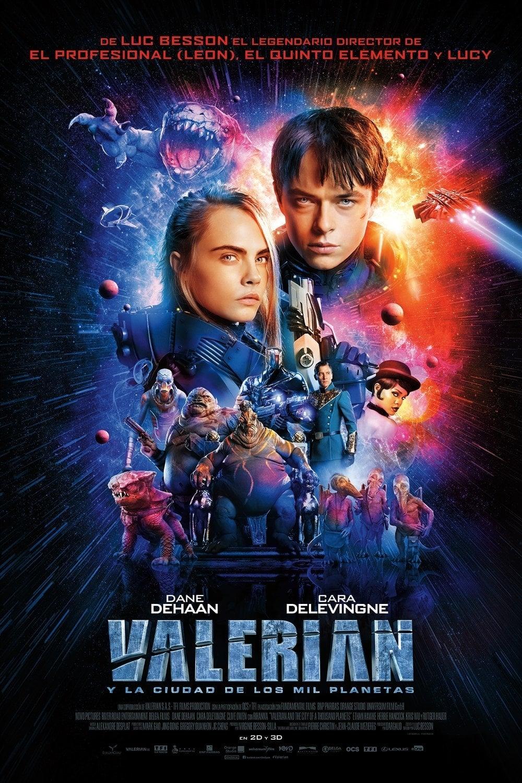 Póster Valerian y la ciudad de los mil planetas