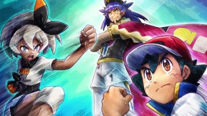 Pokémon Season 23 :Episode 39  Satoshi VS Saitou! Conquer the Octopus Hold!!