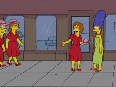 The Simpsons Season 17 :Episode 7  The Last of the Red Hat Mamas