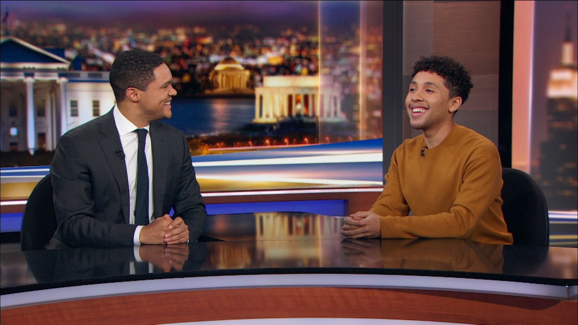 The Daily Show with Trevor Noah Season 24 :Episode 23  Kirsten Gillibrand & Tessa Thompson