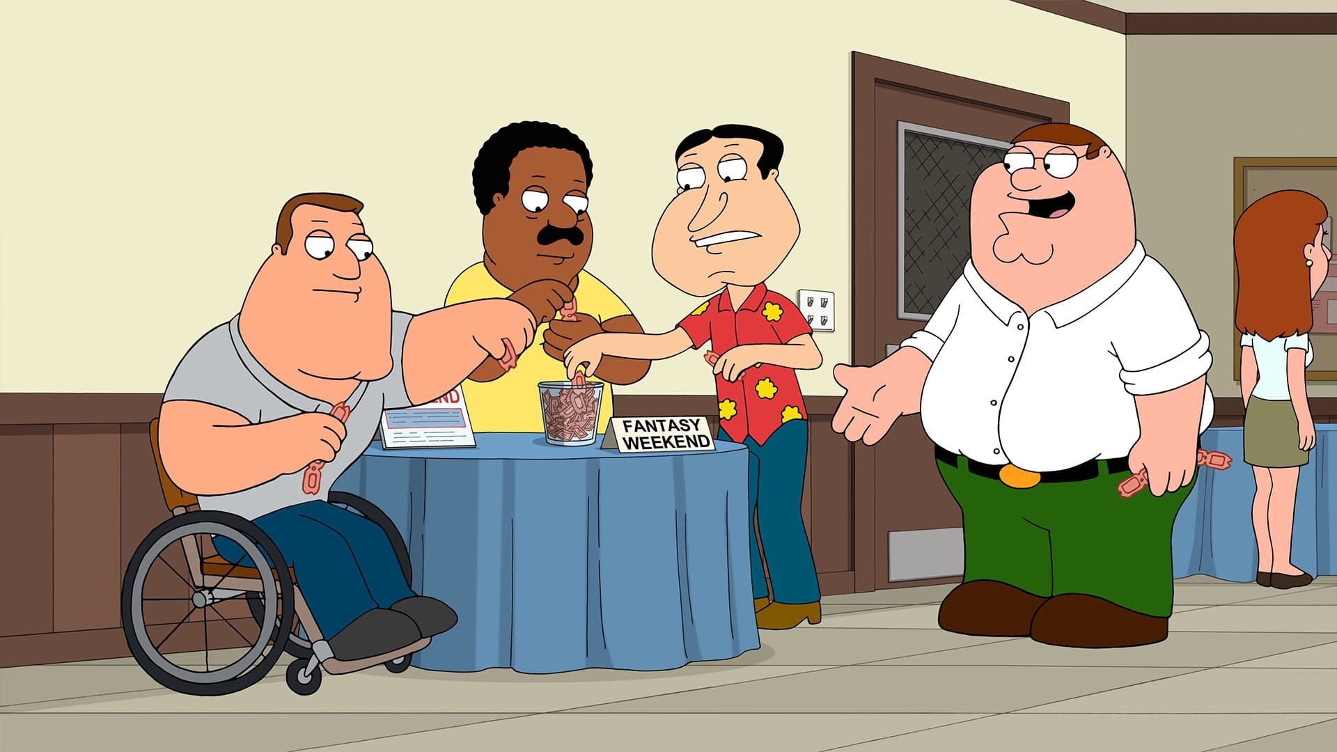 Family Guy Season 15 :Episode 17  Peter's Lost Youth