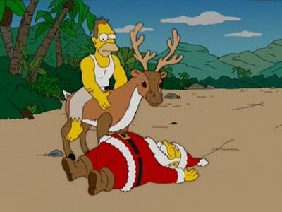 The Simpsons Season 17 :Episode 9  Simpsons Christmas Stories