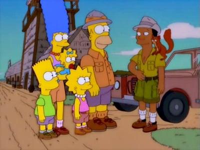 Die Simpsons Season 12 :Episode 17  Die Sippe auf Safari