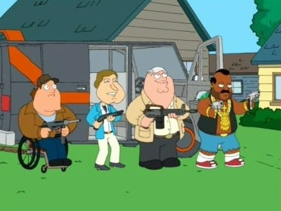 Family Guy Season 4 : Brian Goes Back to College