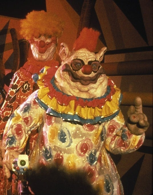 Killer klowns from outer space animatronic klown head for Killer klowns 2