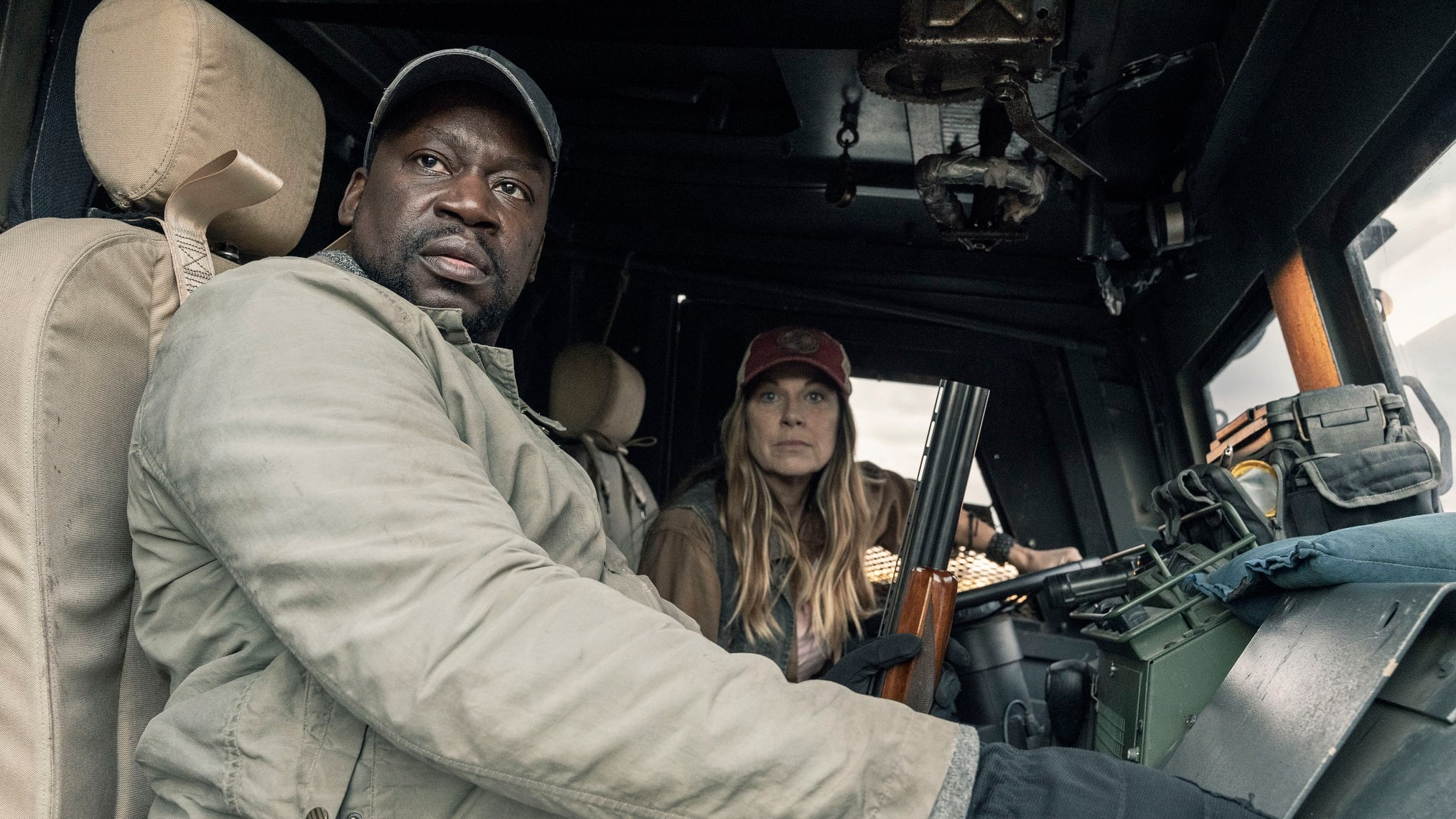 Fear the Walking Dead - Season 5 Episode 4 : Skidmark
