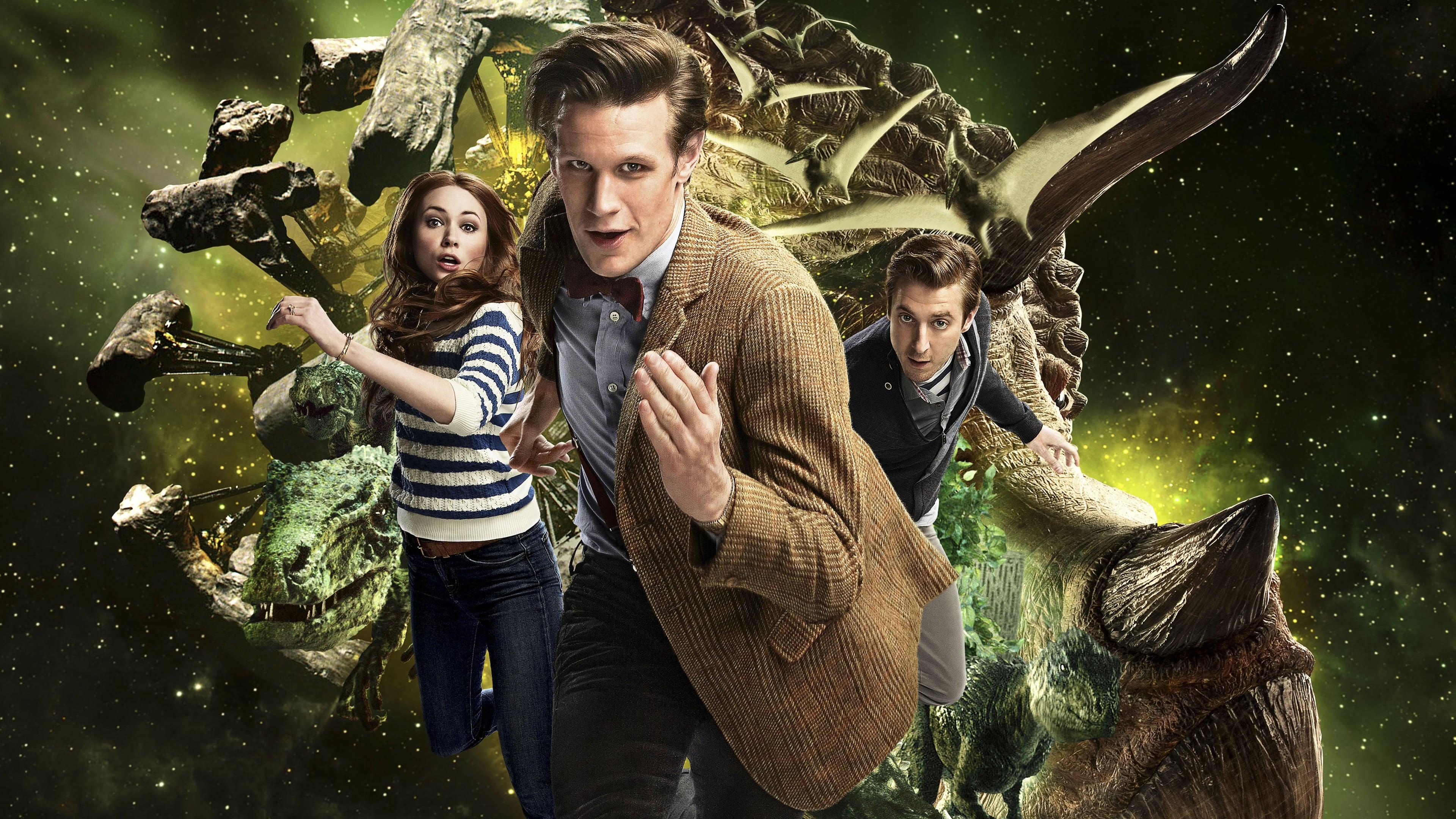Doctor Who Season 7 :Episode 2  Dinos im All
