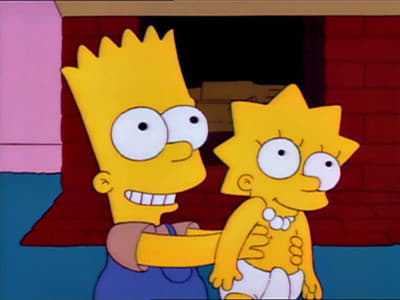 The Simpsons - Season 4 Episode 10 : Lisa's First Word
