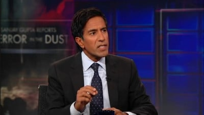 The Daily Show with Trevor Noah Season 16 :Episode 112  Dr. Sanjay Gupta