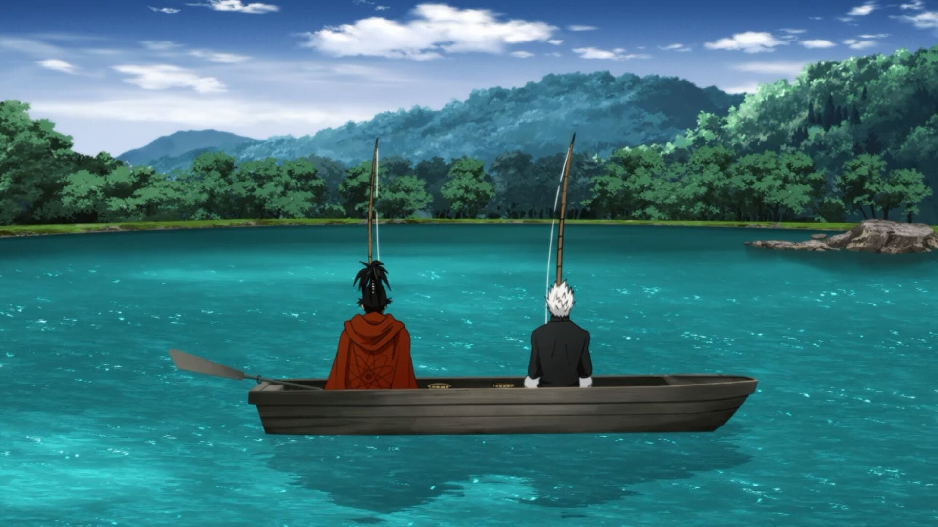 One-Punch Man Season 0 :Episode 10  Fishing With the Old Boys