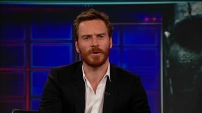 Season 17 :Episode 109  Michael Fassbender