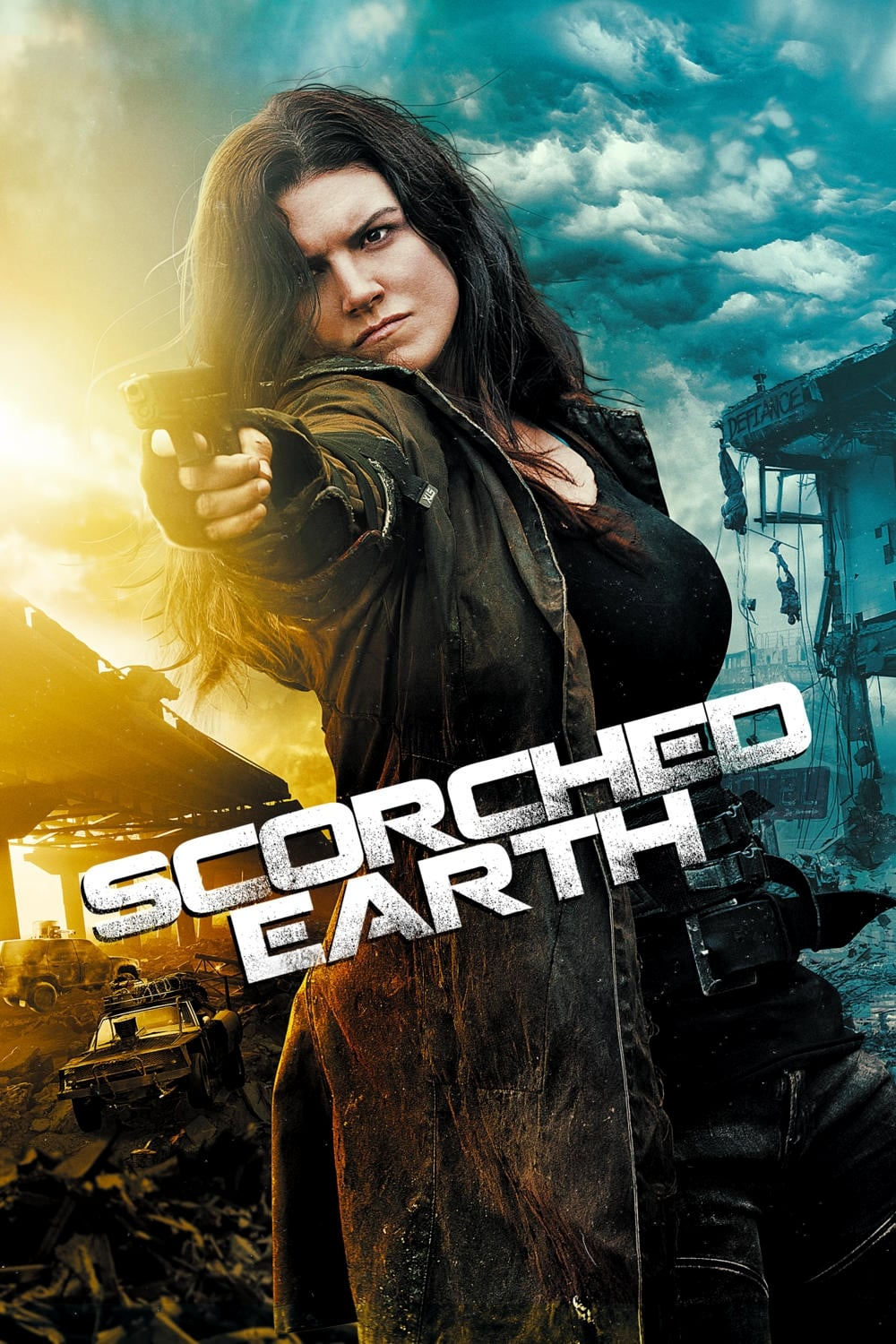 Póster Scorched Earth