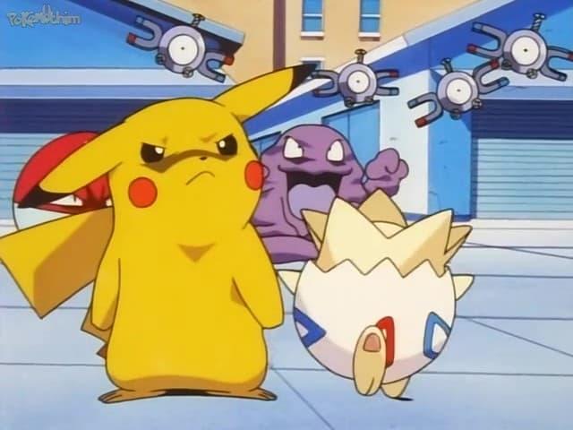 Pokémon Season 2 :Episode 6  Pikachu Re-Volts