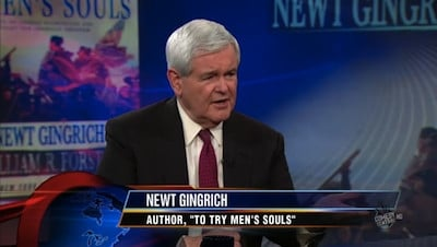 The Daily Show with Trevor Noah Season 15 :Episode 22  Newt Gingrich