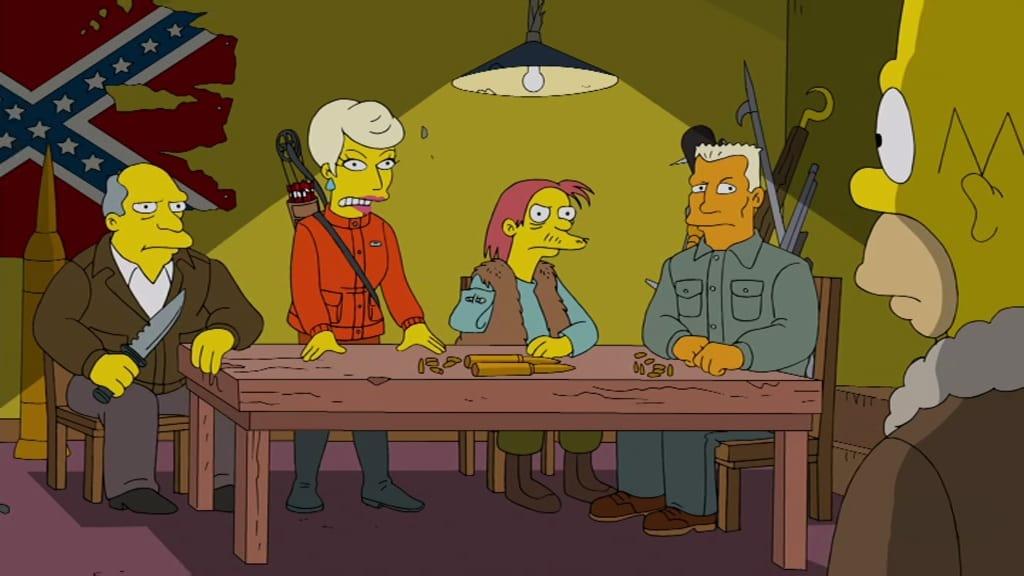 The Simpsons Season 24 :Episode 9  Homer Goes to Prep School