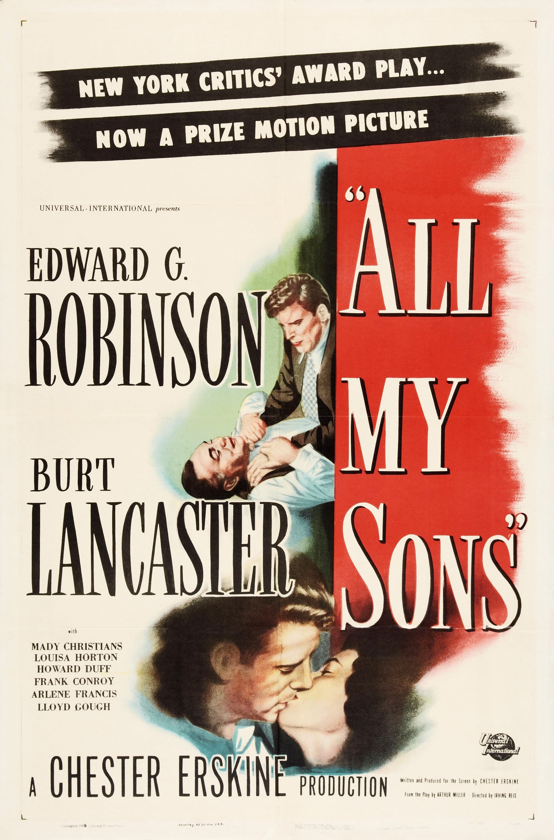 all my sons arthur miller american family life is corrupt Audition notice: all my sons all my sons all my sons, arthur miller's first commercial success, tells the story of an american family caught up in the struggle between personal responsibility and duty to their country joe keller.