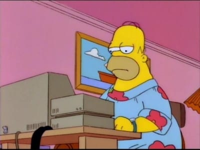 Homero tamaño familiar
